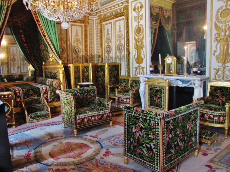 Interior of Château de Fontainebleau