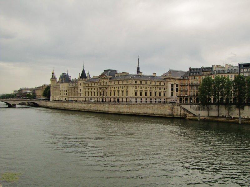 The Conciergerie across the Seine