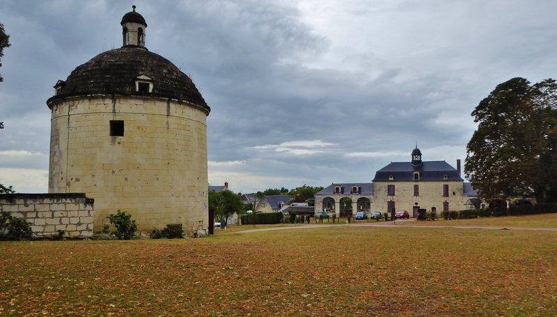 Château de Brézé Tower Entrance