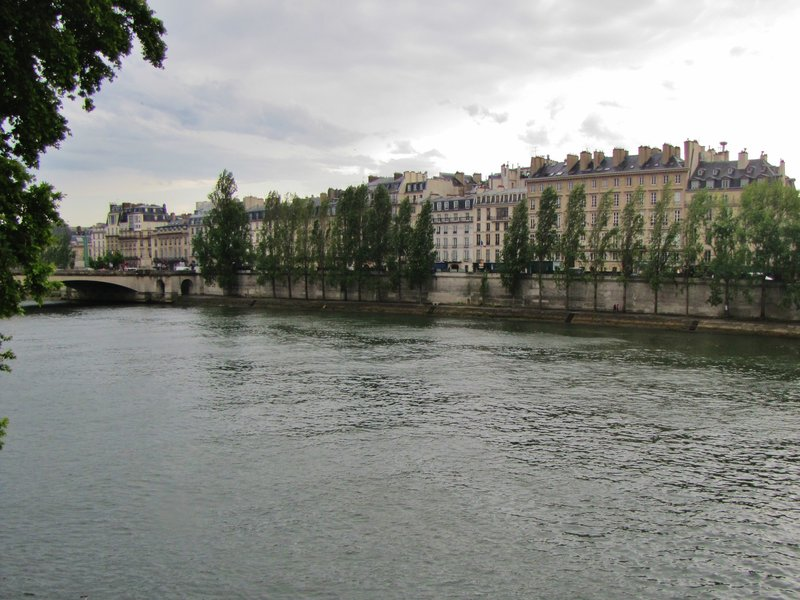 View from Pont Royal as we walked home