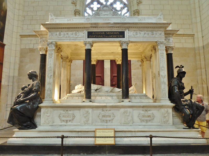 Tomb of General de la Moricière in the Cathedral of Nantes