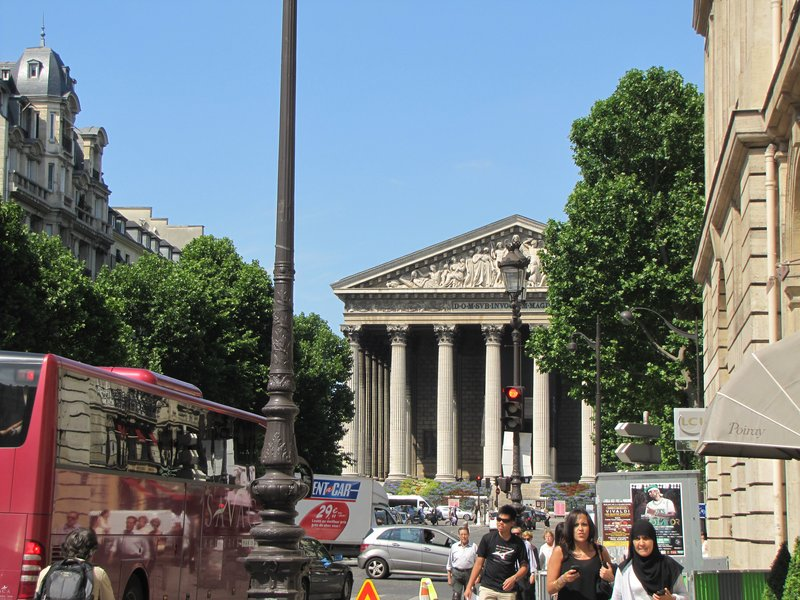 Leaving The Madeleine