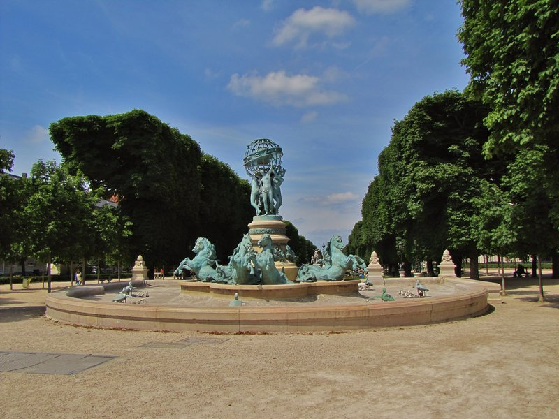 Fontaine de l'Observatoire of Paris