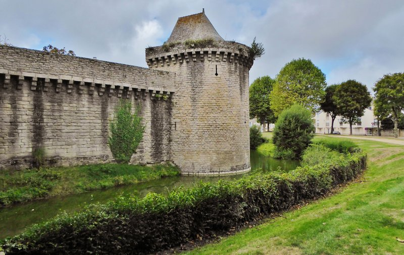 One of the towers surrounding Guérande