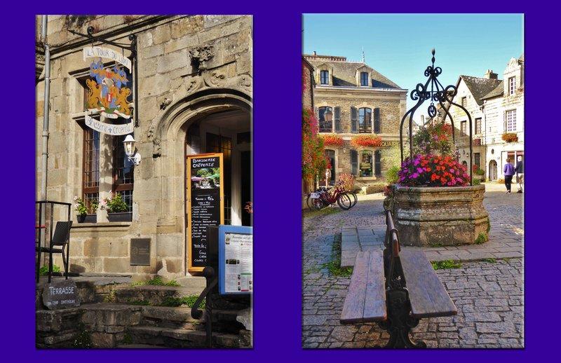 Street scenes in Rochefort-en-Terre