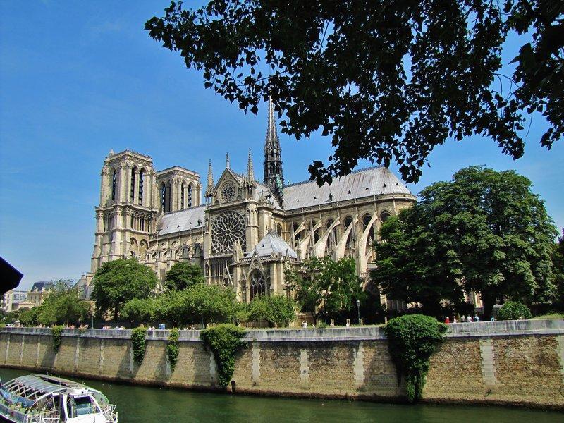 Notre Dame from the Quai de Montebello