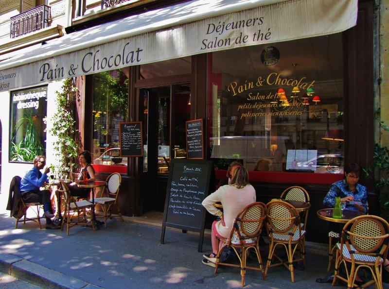 Pain et Chocolat, a favorite restaurant