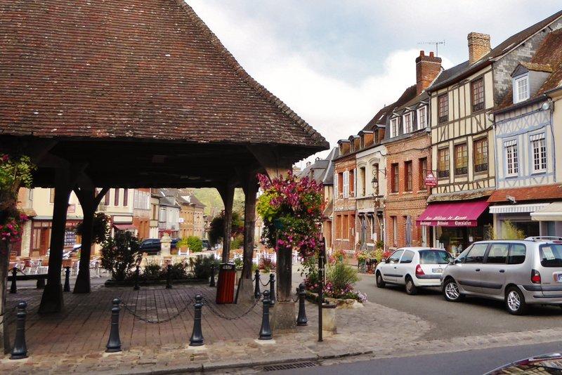 Market Square in Lyons-la-Forêt