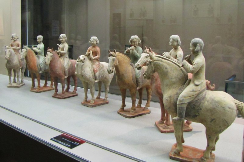 Orchestra of Eight Musicians in the Cernuschi Museum