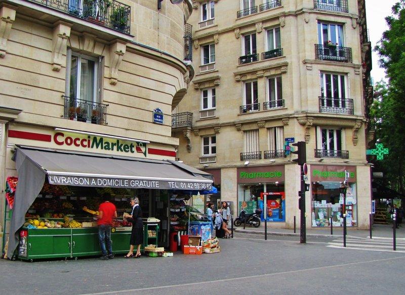 Cocci Market on rue Lamarck in Montmartre