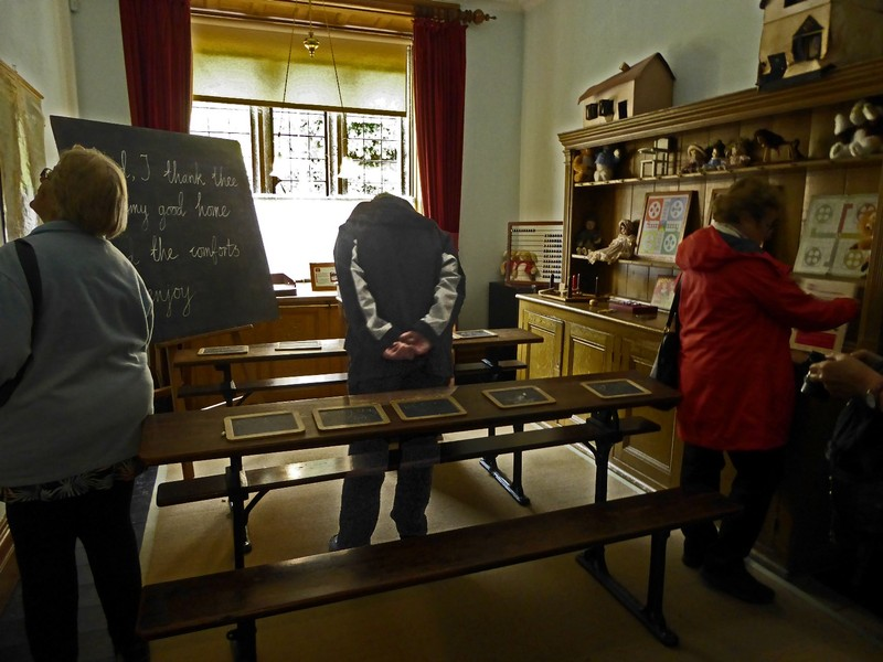 The School Room at Lanhydrock House