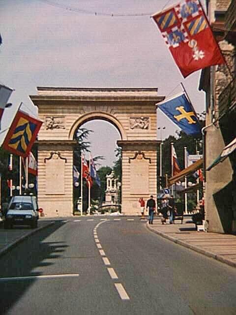 Porte Guillaume in Dijon