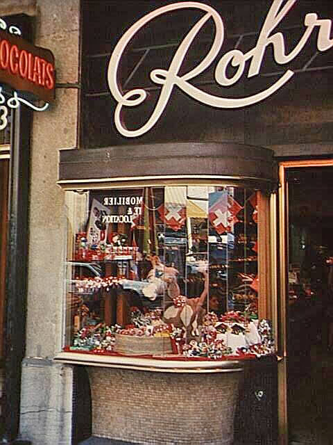 Rohr Chocolate Shop in Geneva