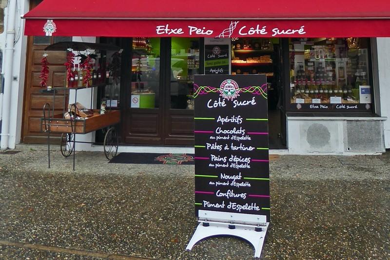 Etxe Peio, a sweet shop in Espelette