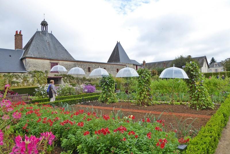 Château de Cheverny potager gardens