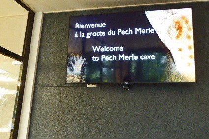Entrance to Pech Merle cave
