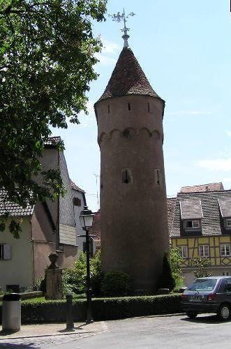 Tour d'enceinte, Obernai