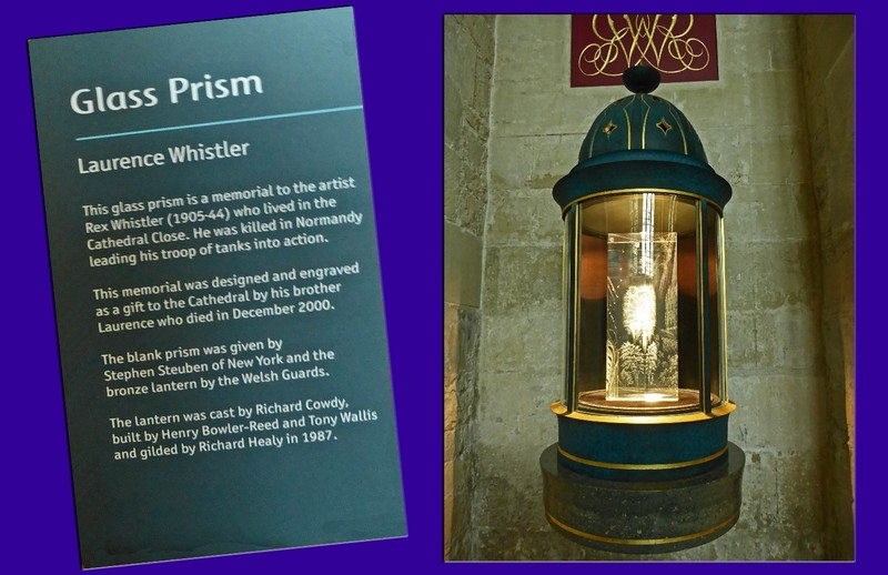 The Glalss Prism in Salisbury Cathedral