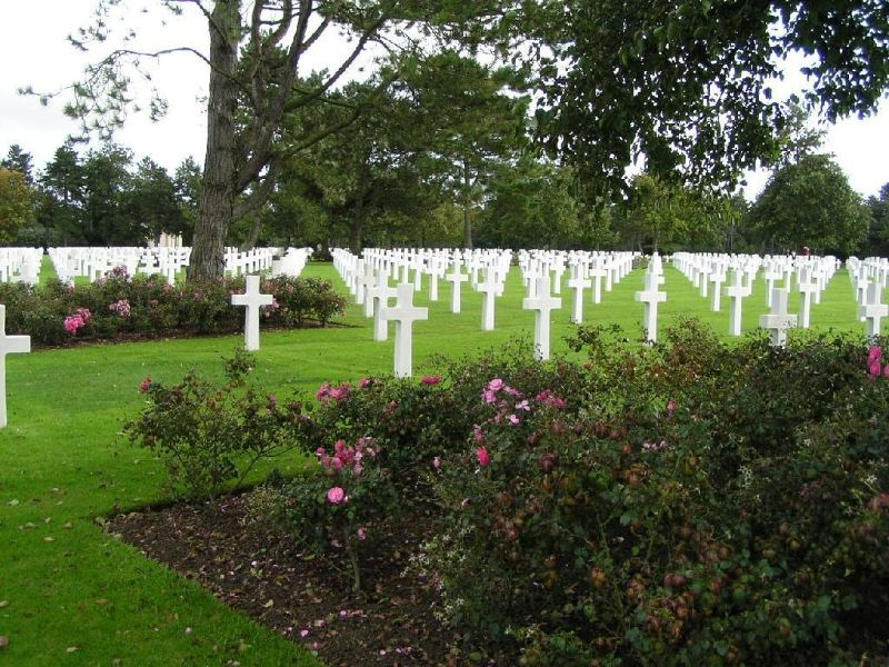 American Military Cemetery, Colleville-sur-Mer - France