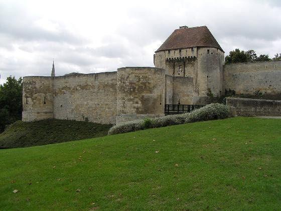 Chateau of William the Conqueror in Caen