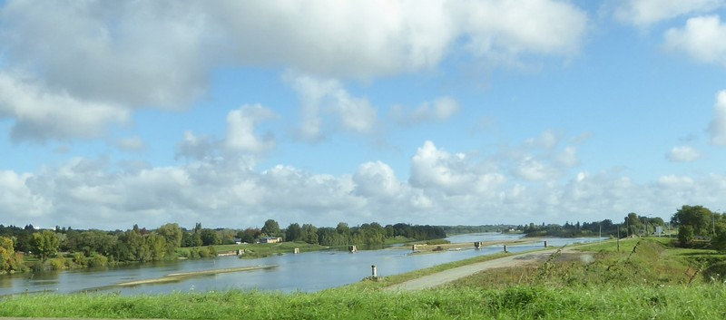 Crossing the Loire near Blois