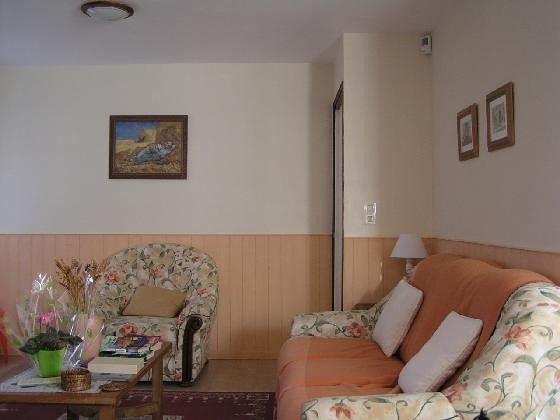 Domaine de la Chapelle  corner of gite living room