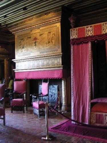 César of Vendome's Bedroom at Château Chenonceau