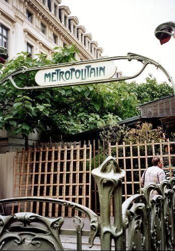 Paris Metro Entrance Cité