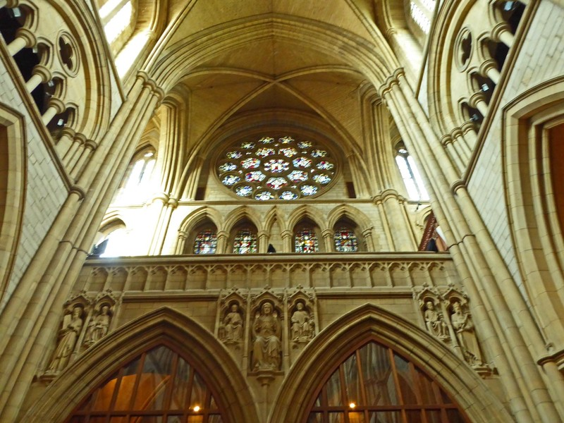 Rose Window in Truro Cathedral