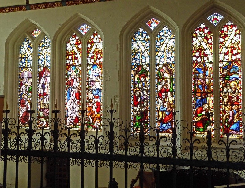 Truro Cathedral - Side Chapel with Stained Glass