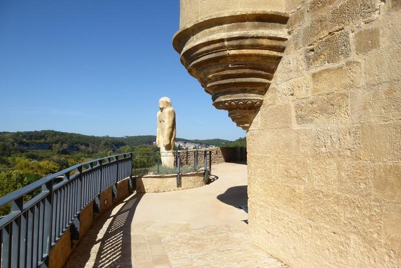 Cro-Magnon Man Statue at National Museum of Prehistory in Les-Eyzies-de-Tayac