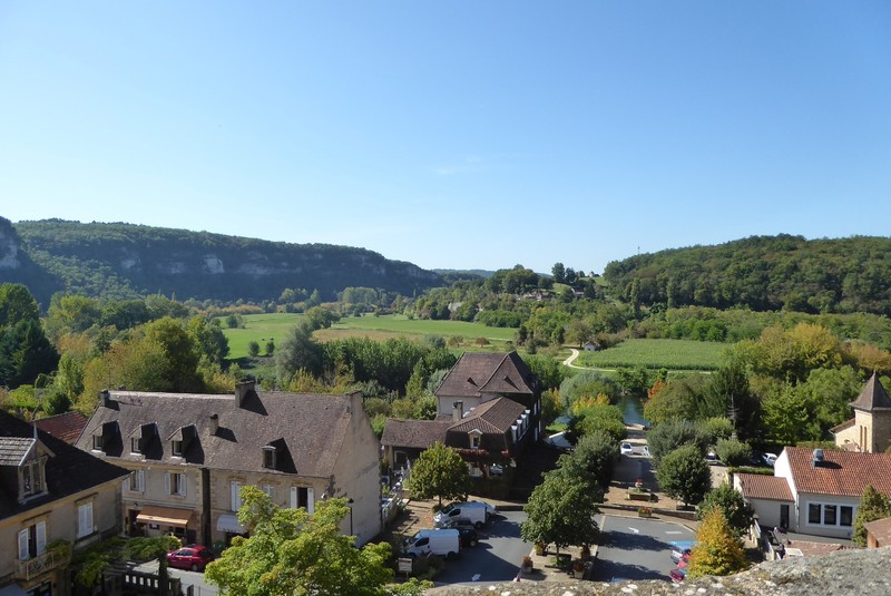 View from the National Museum of Prehistory in Les-Eyzies-de-Tayac