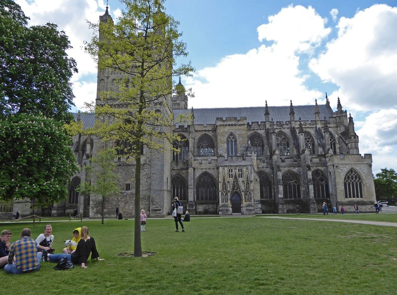 Cathedral Green in Exeter