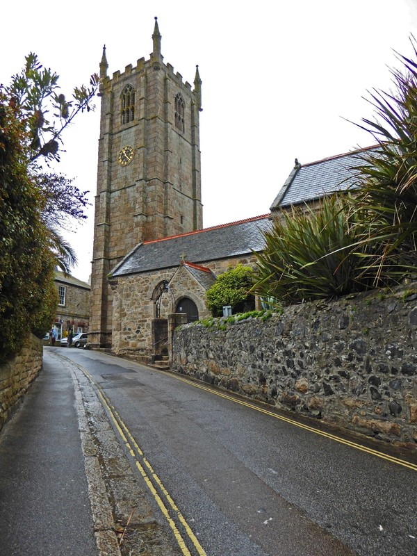 St. Ia, the St. Ives Parish Church