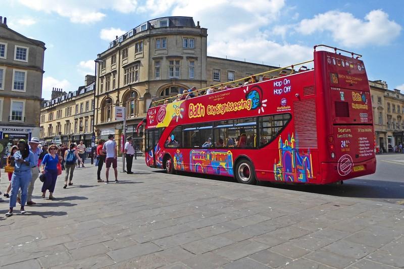 Bath, the bus we didn't take