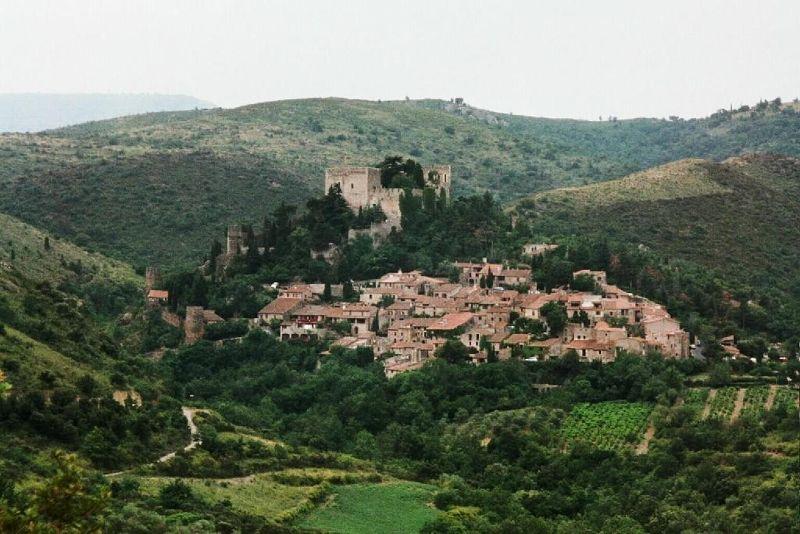 Castelnou - France