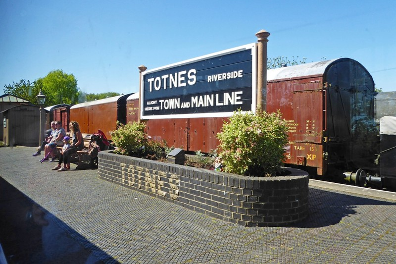 Totnes Station on the South Devon Railway