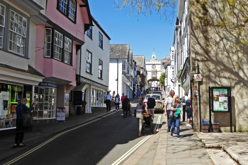 High Street in Totnes