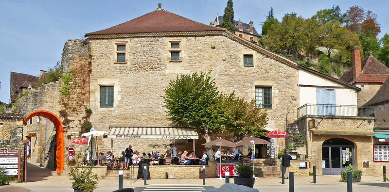 L'Ancre Salut Restaurant on the D31 in Limeuil