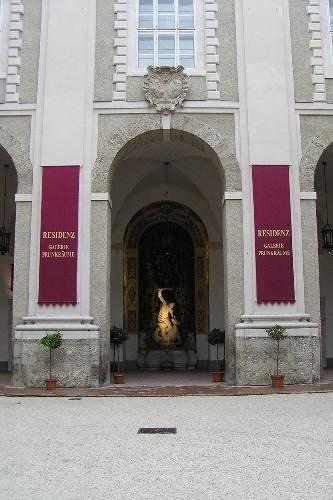 The Residenz in Salzburg