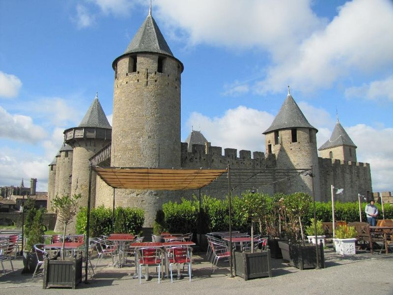 La Cité at Carcassonne