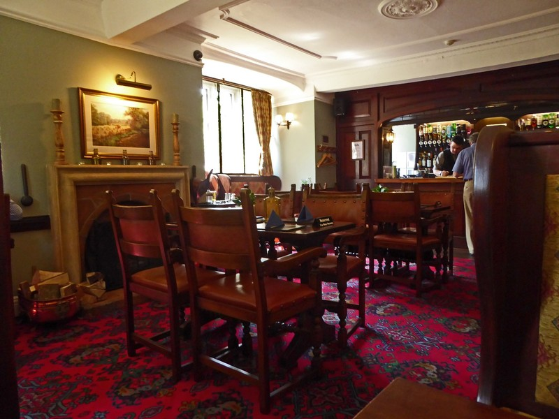 Bar area at Stow Lodge Hotel-Restaurant