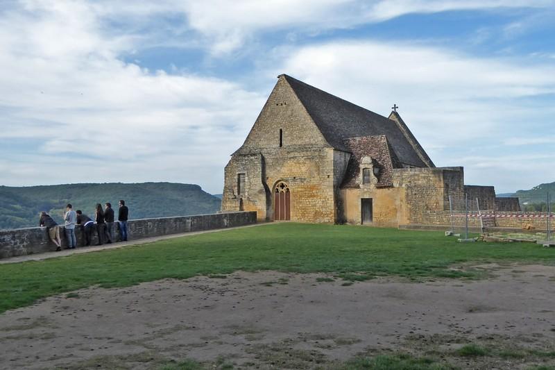 Church at Château de Beynac, now the church for the town