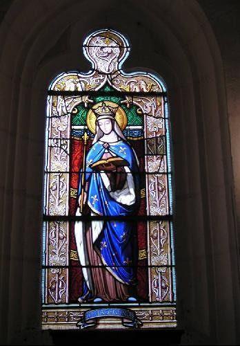 Domaine de la Chapelle - chapel window