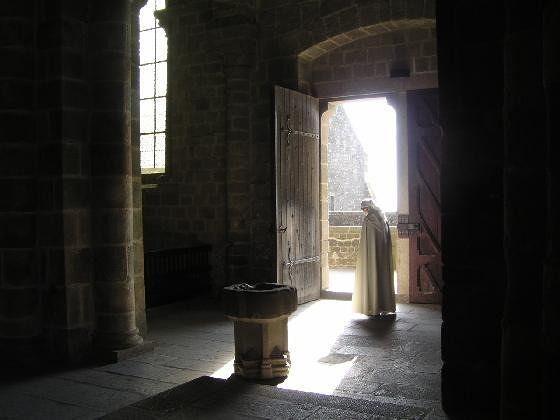 Inside Mont Saint Michel