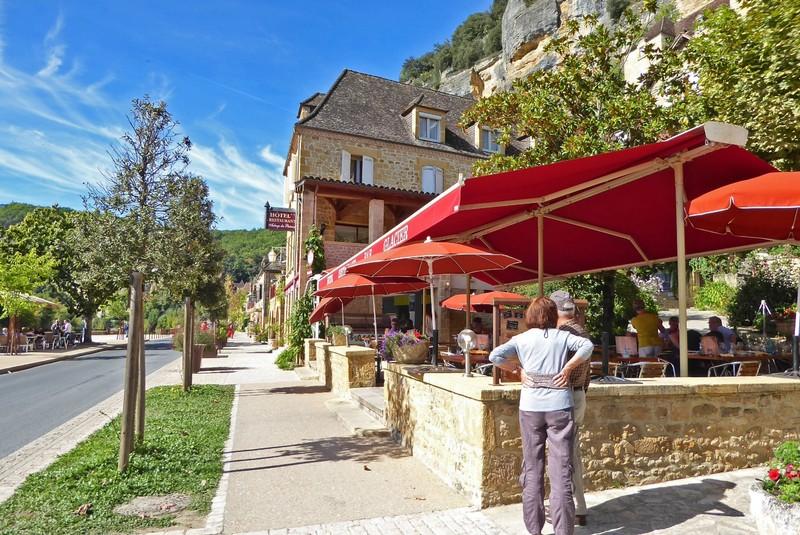 Auberge des Platanes in La-Roque-Gageac