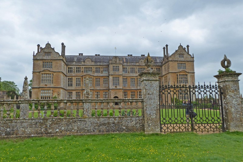 Montacute House from the Front Pasture