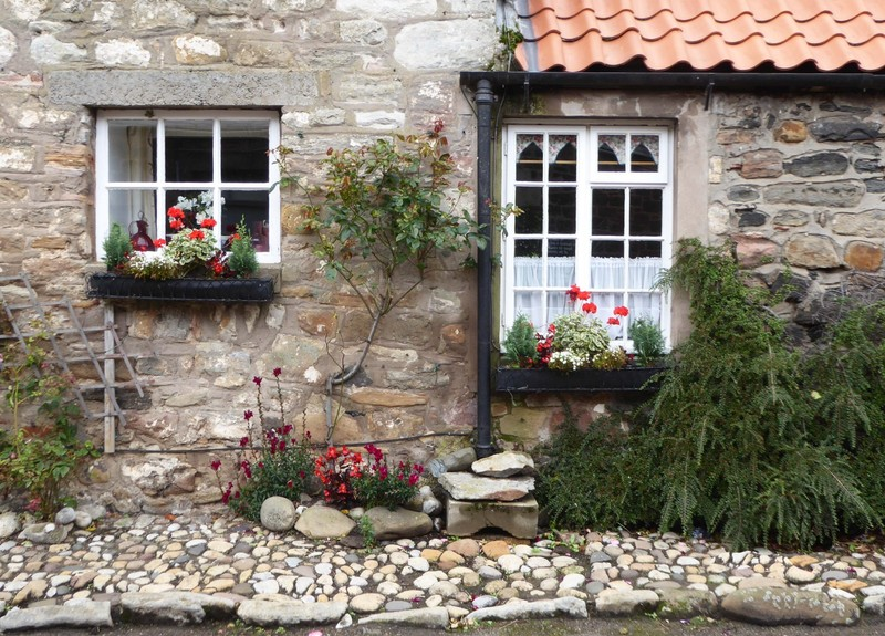 Cute house on Lindisfarne (Holy Island)