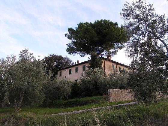 Villa di Melazzano, the view out our window!