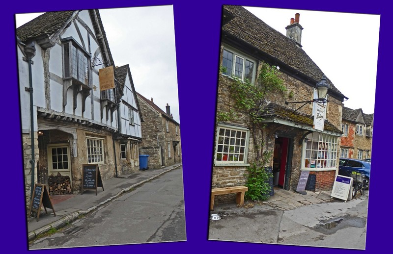 Local Accommodation and the Local Bakery in Lacock Village